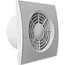 Nástěnný ventilátor QS průměr 120 mm se zpětnou klapkou, časový doběh, hygrostat