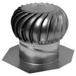 Ventilační rotační hlavice IB8 hliník, průměr 203mm