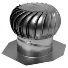 Ventilační rotační turbína hliník 356mm