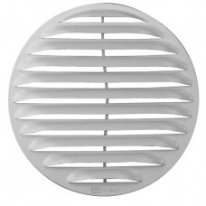 Kruhová mřížka se síťkou pro vel. otvoru ve zdi 125 mm