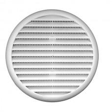 Kruhová mřížka se síťkou a pružinou pr. 80 - 125 mm