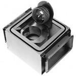Radiální hlukově izolovaný ventilátor IRE 230V rozměr 500x300