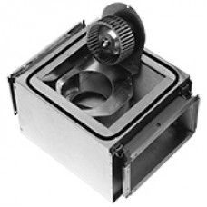 Radiální hlukově izolovaný ventilátor IRE 400V rozměr 800x500