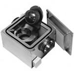 Radiální hlukově izolovaný ventilátor IRE 230V průměr 125mm