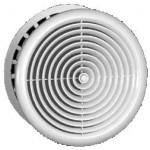 Plastová kruhová mřížka do podhledu 150mm