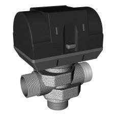Třícestný ventil ZV-3 se servopohonem